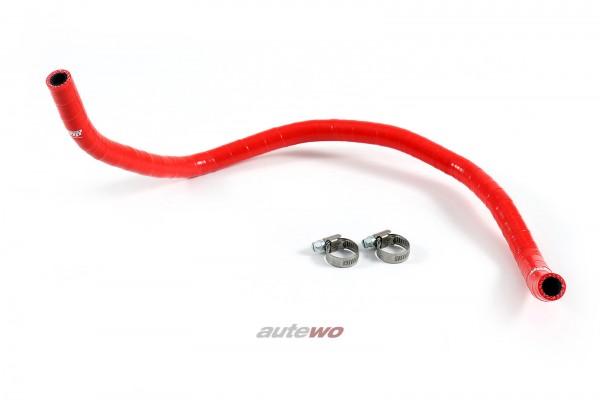 Silikon-Rücklaufschlauch Servolenkung rot Audi A6/S6/RS6 4B