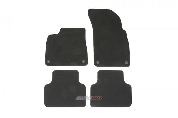 4M1863011F NEU Audi Q7/SQ7/Q8/SQ8/RSQ8 4M Fußmattensatz soul schwarz
