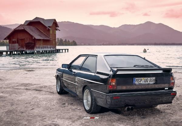 Postkarte Audi Urquattro 10V Turbo