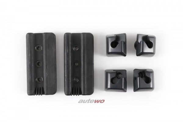Audi A4/S4 B5 Avant Set Halter/Einhängeösen Trennnetz/Netztrennwand Schwarz