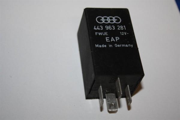 Audi/VW 80/90/100/200/V8 Relais 316 Flammwächter 443963281