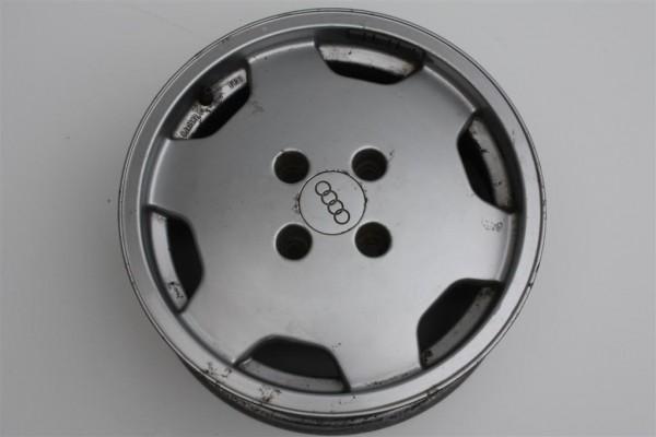 Audi 80/90 Typ 89 Alufelge Kanaldeckel 6Jx15 ET37 LK 4x108 895601025B