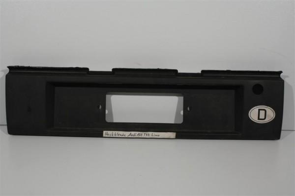 Audi 100 Typ 44 Limousine Kennzeichenblende Plastik schwarz 443853465