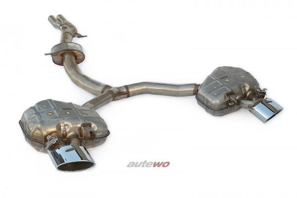 8W0253409K/8W0253609AA/8W0253610D NEU Audi RS4 B9 Serien-Abgasanlage silber