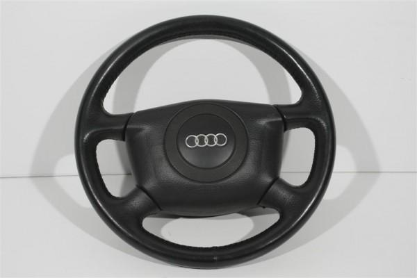 Audi Cabrio/A4/A6/A8 Leder-Lenkrad 4-Speichen ohne Schleifring 4B0419091S