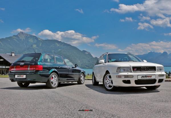 Postkarte Audi RS2 P1