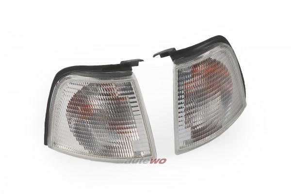 NEU Hella Audi 80 Typ 89/B4 Set Blinker Vorne weiß für 8A0953049A/8A0953050A
