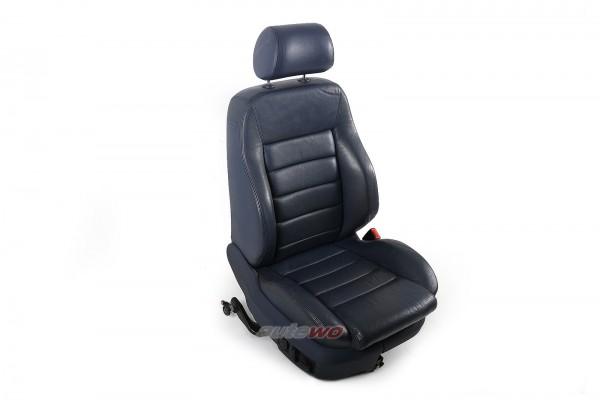 Audi A6 4B Beifahrersitz elektrische Verstellung & Sitzheizung Leder royalblau