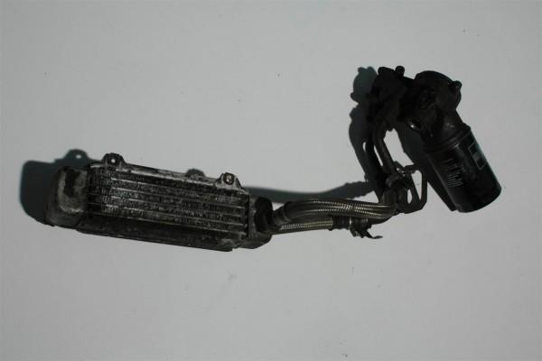 Audi 200 20V 3B Ölkühlerset inkl. Leitungen/Flansch 034117021