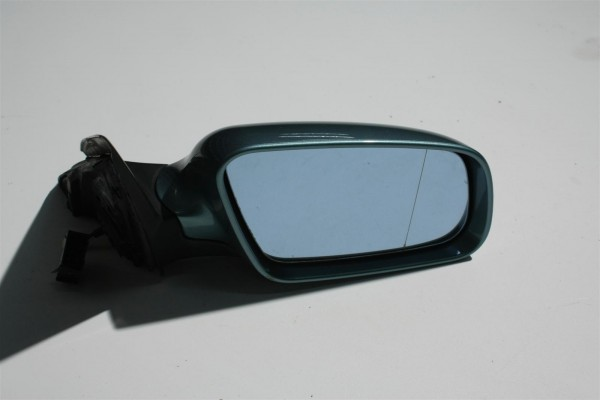 Audi A6 4B Außenspiegel groß Rechts BFS jaspisgrün LX6V 4B1858531G