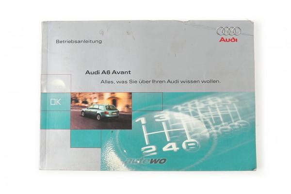 991.561.4B5.00 Audi A6 4B Avant Betriebsanleitung deutsch, Ausgabe 1998