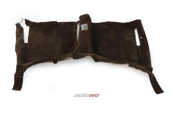 443863107E Audi 100/200 Typ 44 Innenraum-Teppich hinten braun