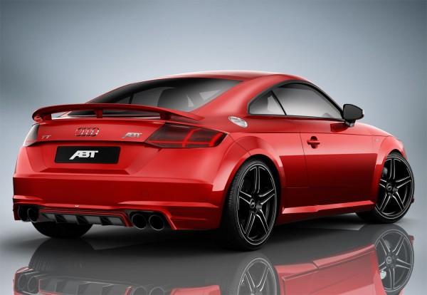 ABT Sportsline Audi TT 8S Heckschürzenset + Endschalldämpfer 8S008004130
