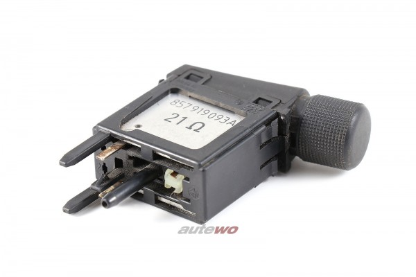 Audi 80/90 Typ 81/85 Regler Instrumentenbeleuchtung 857919093A