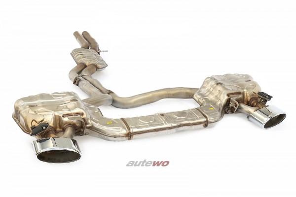 4K0253181CC NEU Audi RS6 C8/5G 4.0l originale Klappen-Abgasanlage silber