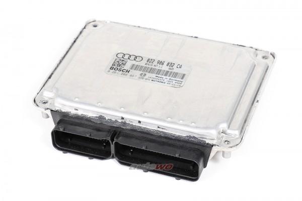 022906032CA Audi A3 8P 3.2l 6 Zylinder BDB Motorsteuergerät