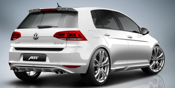 ABT Sportsline VW Golf GTI VII/7 Sport-Endschalldämpfer + Diffusor 5G0807130-1