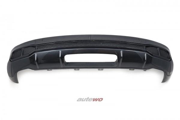 Audi SQ5 FY S-Line-Heck-Diffusor Stoßstange Hinten LX7L Manhattangrau-metallic