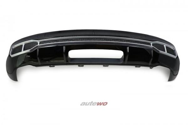 Audi SQ5 FY S-Line-Heck-Diffusor Stoßstange Hinten LY9T Mythosschwarz