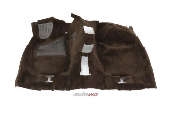 443863101AA Audi 100/200 Typ 44 Innenraum-Teppich Automatik vorne braun