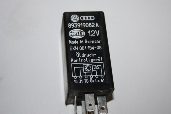 Audi/VW 80/100 Relais 310 Öldruckwarnung 4 Zylinder 893919082 893919082A