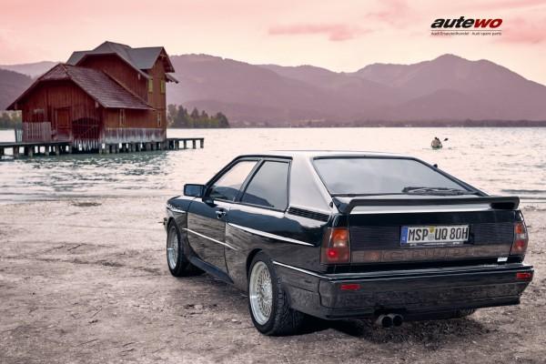 Poster DIN A2 Audi Urquattro 10V Turbo