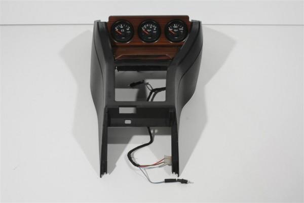 Audi 80/90 Typ 89 Zusatzinstrumente mit Zebrano-Edelholzblenden