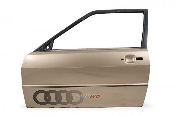 855831051E Audi Coupe Typ 81/85/Urquattro Tür Vorne Links Gold