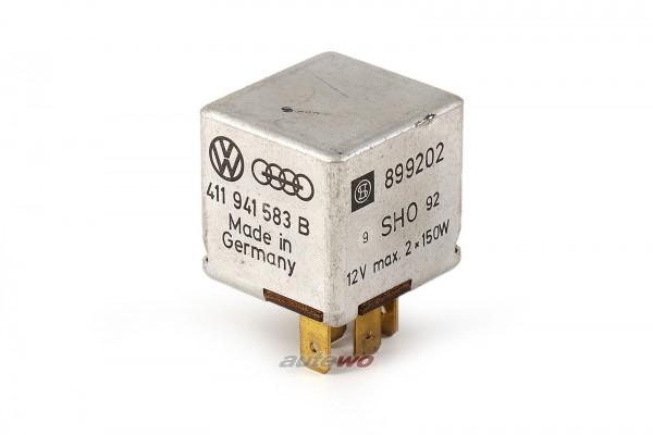 Audi/VW 80/90/100/200/V8 Relais 411941583B