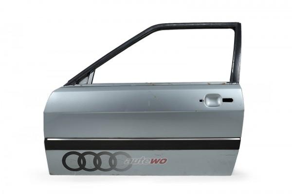 855831051E Audi Coupe Typ 81/85/Urquattro Tür Vorne Links Silber