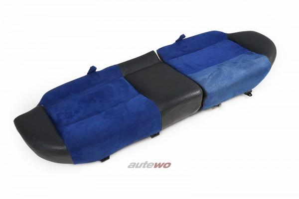 Audi RS2 P1 Avant Rücksitzbank Unterteil Leder/Alcantara blau