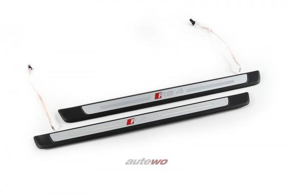 8W0947417B/8W0947418B Audi RS4 8W Einstiegsleisten Beleuchtet