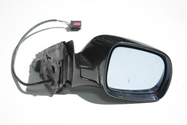 Audi A8 D2 Außenspiegel & anklappbar Rechts BFS vulkanschwarz LZ9U 4D1858532S