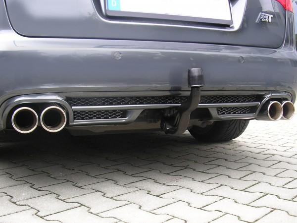 ABT Sportsline Audi A6 4F Avant Sport-Endschalldämpfer + Diffusor 4F0800103AV
