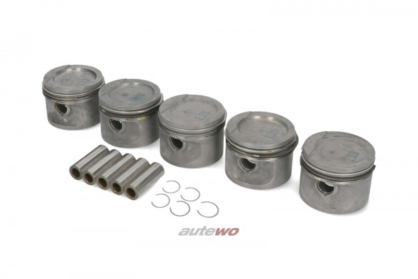 034107071C NEU Audi/VW 90/Coupe Typ 81/85/100/200 Typ 44 Kolbensatz 81.25mm