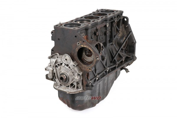 046100103D Audi S2/RS2/S4/S6 C4/Urquattro 20V Motorblock 2.5l TDI AAT 055796
