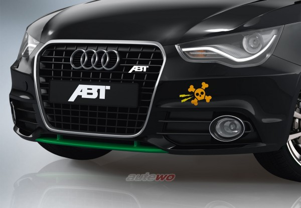 ABT Sportsline Frontlippe Audi A1 8X 8X0801212GG