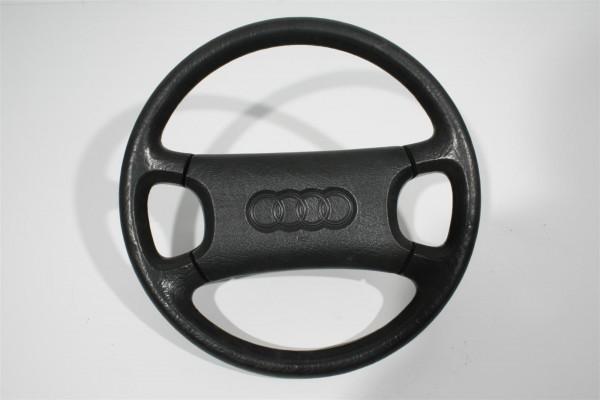 Audi 80/90 Typ 89/100/200 Typ 44/V8 4-Speichen-Lenkrad Kunststoff schwarz 893419