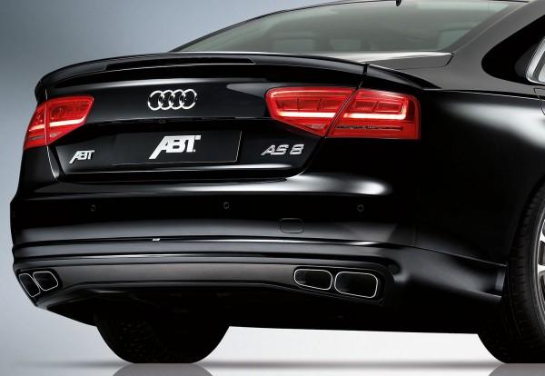 ABT Sportsline Diffusor mit Endrohrblenden Audi A8 4H 2010-2013