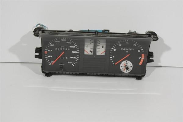 Audi 80/90 Typ 81/85 5 Zylinder Kombiinstrument weiße Instrumentenblätter