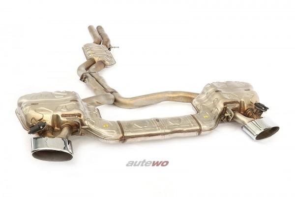 4K0253181CA NEU Audi RS6 C8/5G 4.0l originale Klappen-Abgasanlage silber