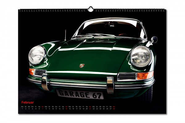 Porsche Classics 911/912/356 Kalender 2021 DIN A2 von Garage 67 Gregor Kaluza