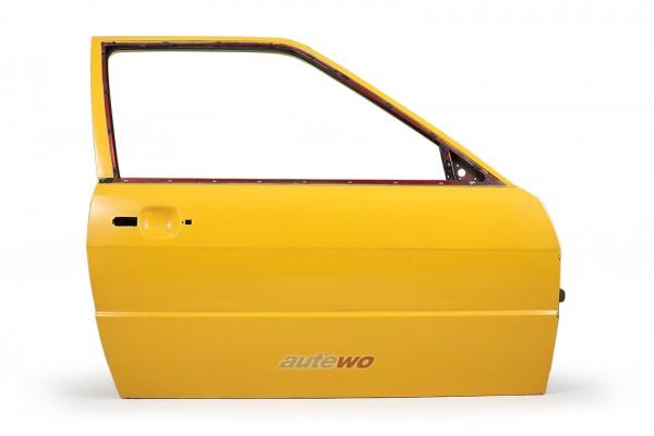 855831052E Audi Coupe Typ 81/85/Urquattro Tür Vorne Rechts Gelb