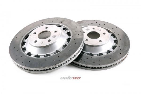 8V0615301S  NEU Audi RS3 8V Sportback 370x34mm Original-Bremsscheiben Vorne