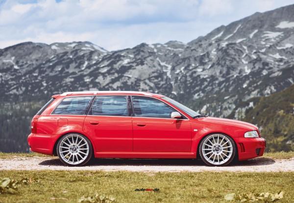 Postkarte Audi RS4 B5 Avant