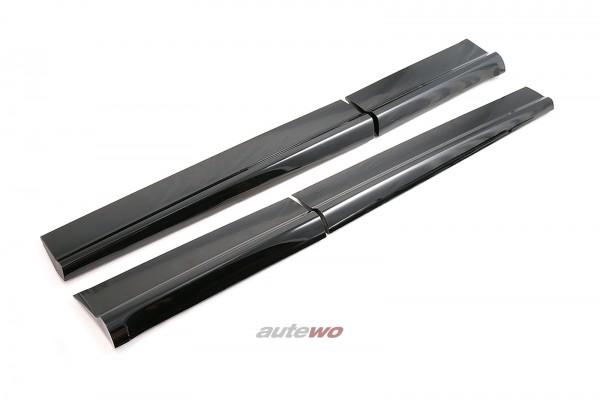 Audi SQ5 FY Türleisten S-Line Vorne/Hinten Links/Rechts LY9T Mythosschwarz
