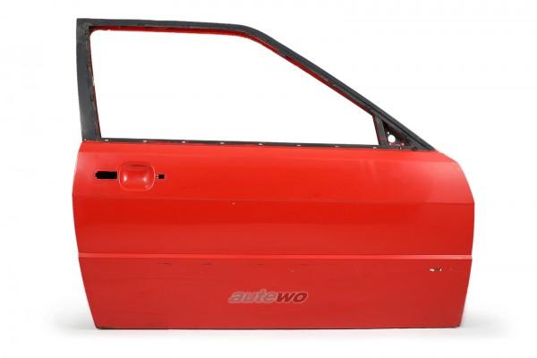 855831052E Audi Coupe Typ 81/85/Urquattro Tür Vorne Rechts Rot