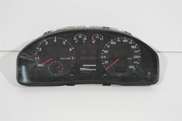 Audi A4 B5 Kombiinstrument ohne Zusatzinstrumente/FIS 8D0919034BX