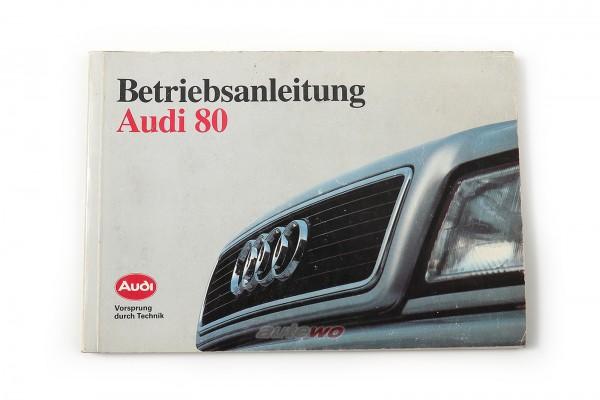 Audi 80 B4 Betriebsanleitung