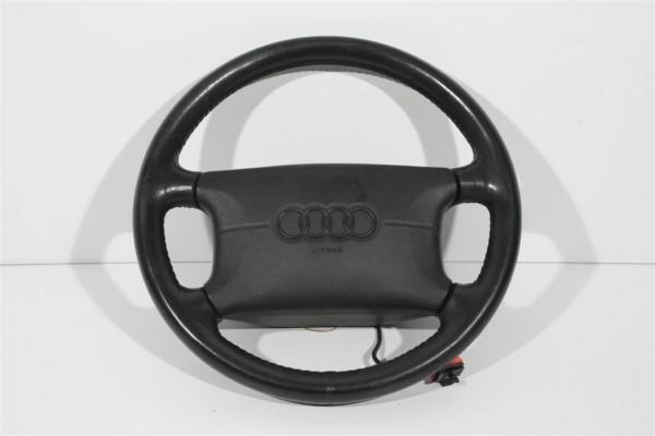 Audi Cabrio/A4/A6/A8 Lenkrad 4-Speichen Leder mit Schleifring 4D0419091